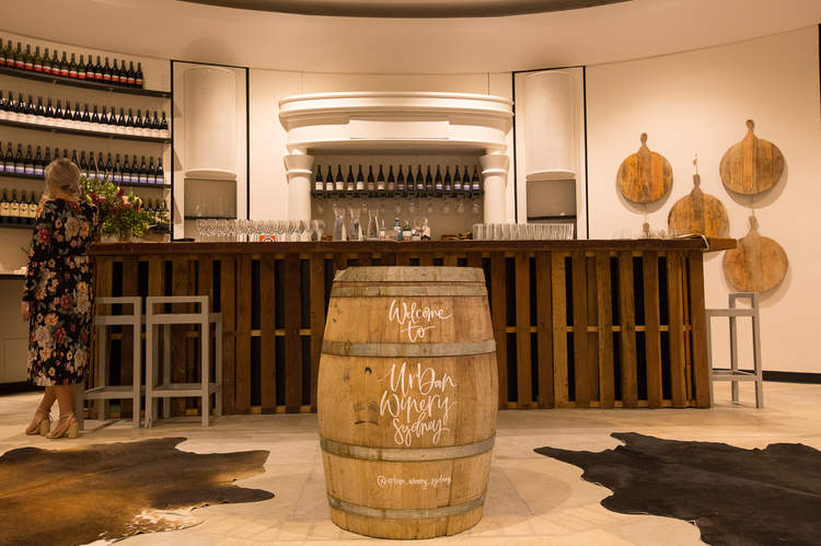Wine Bar at Urban Winery Sydney